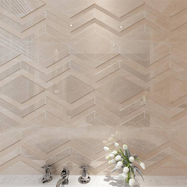 欧博德电地暖 电加热地暖瓷砖 速热地板砖 智能发热地砖 自发热瓷砖 世纪米黄 MT8815P