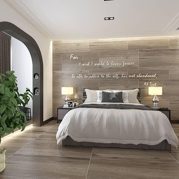电加热地暖瓷砖 速热地板砖  青花梨木 MF12508