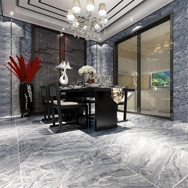 欧博德电地暖 电加热地暖瓷砖 速热地板砖  雅典灰加仑 2-MSD8862P