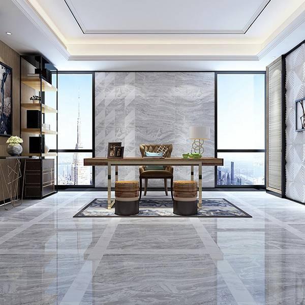 速热地板砖智能发热地砖自发热瓷砖波斯海浪灰MSD8863P